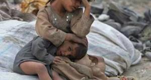 أطفال مهجرين
